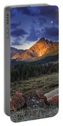 Lost River Mountains Moon Portable Battery Charger