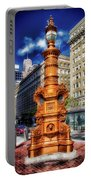 Lotta's Fountain - San Francisco Portable Battery Charger