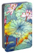 Lotus #2 Portable Battery Charger