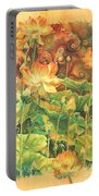 Lotus Field Portable Battery Charger