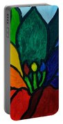 Lotus Flower 1 Portable Battery Charger