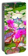 Lotus Flower 3 Portable Battery Charger