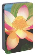 Lotus Flower Portable Battery Charger