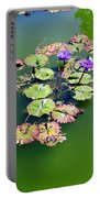 Lotus Flowers #4 Portable Battery Charger