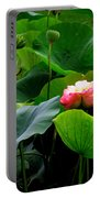 Lotus Forms Portable Battery Charger