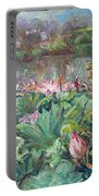 Lotus Pond-3 Portable Battery Charger