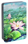 Lotus_01 Portable Battery Charger