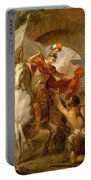 Louis Galloche - A Scene From The Life Of St. Martin Portable Battery Charger