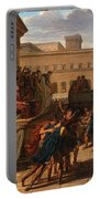 Louis Lafitte - Brutus Listening To The Ambassadors From The Tarquins Portable Battery Charger