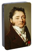 Louis-leopold Boilly - Portrait Of A Gentleman Portable Battery Charger