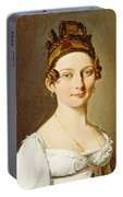 Louis-leopold Boilly - Portrait Of A Lady Portable Battery Charger