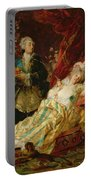 Louis Xv And Madame Dubarry Portable Battery Charger