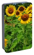 Louisa, Va. Sunflowers 3 Portable Battery Charger