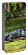 Louisiana Gator Portable Battery Charger