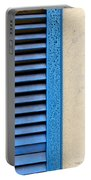 Louvered Portable Battery Charger