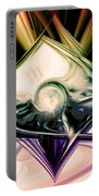 Love And Light Portable Battery Charger by Linda Sannuti