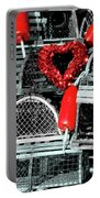 Love And Lobster Portable Battery Charger