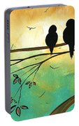 Love Birds By Madart Portable Battery Charger