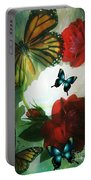 Love Blossoms Portable Battery Charger