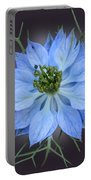 Love In A Mist Black With Light Portable Battery Charger