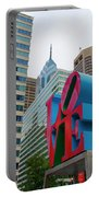 Love In The City - Philadelphia Portable Battery Charger