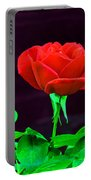 Love Is A Rose Portable Battery Charger