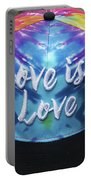 Love Is Love Portable Battery Charger