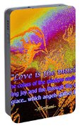 Love Is The Music Portable Battery Charger