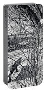 Love On A Tree Portable Battery Charger by CJ Schmit
