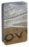 Love On The Beach Portable Battery Charger