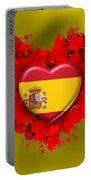 Love Spain Portable Battery Charger