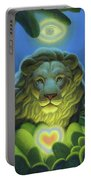 Love, Strength, Wisdom Portable Battery Charger
