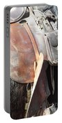 Loved Leather Tack Portable Battery Charger