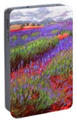 Lovelock's Lavender Portable Battery Charger