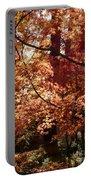 Lovely Autumn Tree Portable Battery Charger