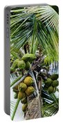 Lovely Bunch Of Coconuts Portable Battery Charger