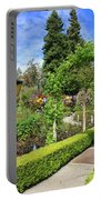 Lovely Day In The Garden Portable Battery Charger by Carol Groenen