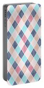 Lovely Geometric Pattern Vi Portable Battery Charger