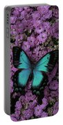 Lovely Green Winged Butterffly Portable Battery Charger