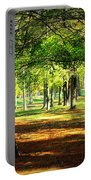 Lovely Grouping Of Trees In Mississippi Portable Battery Charger