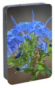 Lovely In Blue Portable Battery Charger