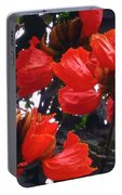 African Tulips Portable Battery Charger