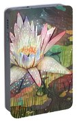 Lovely Waterlilies 2 Portable Battery Charger