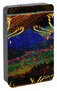 Lovers Dancing In The Golden Light Of Dawn Portable Battery Charger