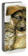 Loving Cat And Dog Portable Battery Charger