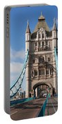 Low Angle View Of Tower Bridge, London Portable Battery Charger