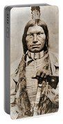 Low Dog Sioux Portable Battery Charger