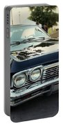 Low Rider In Black Portable Battery Charger