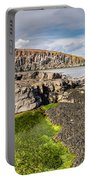 Low Tide At Cullernose Point Portable Battery Charger