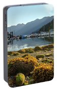 Low Tide At Horseshoe Bay Canada Portable Battery Charger